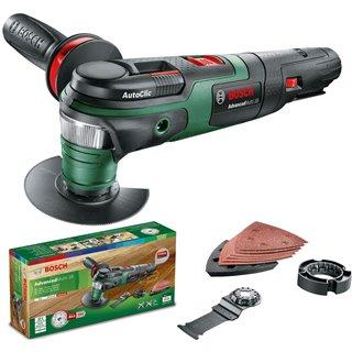 Outil multifonctions sans fil Bosch - AdvancedMulti 18 avec set d'accessoires - Sans batterie - Sans chargeur