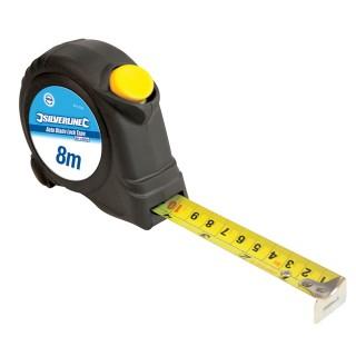 Mètre ruban autobloquant - 8 m x 25 mm