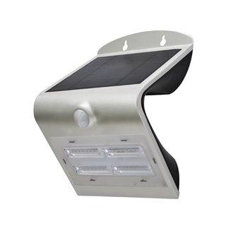 Lampe Led Solaire Avec Capteur Pir - 3.2 W