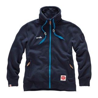 Veste polaire zippée bleue Vintage - Taille XXL