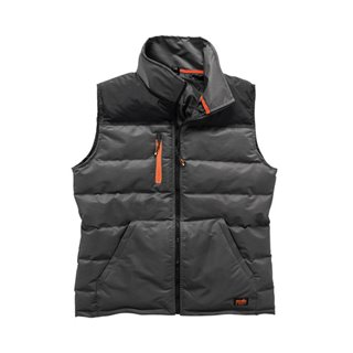 Gilet Worker gris - Taille XXL