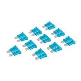 Fusibles automobiles standards ATO à lame, 10 pcs - 15 A, Bleu