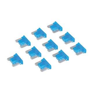 Micro-fusibles automobiles ATT profile bas à lame, 10 pcs - 15 A bleu