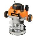 Défonceuse de précision bi-mode plongeante 1400 W - MOF001EU