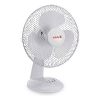 Ventilateur de Bureau Basic Home 35W Blanc