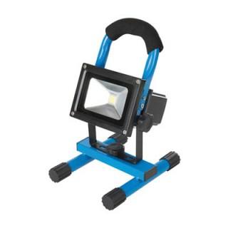 Projecteur de chantier LED rechargeable avec port USB - 10W (UE)