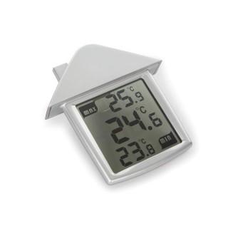 Thermomètre De Fenêtre Transparent Avec Indications Min/Max