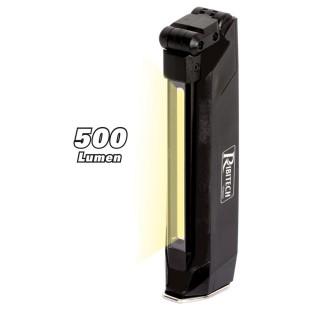 Baladeuse / Lampe torche à LED batterie 5W/500Lumens, pliante