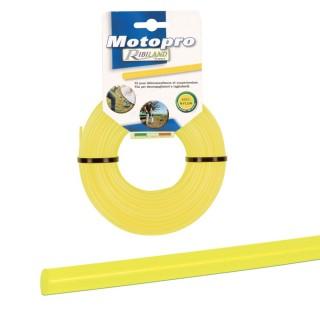 """Fil rond diam.3,0 mm x 50m jaune""""MOTOPRO"""""""