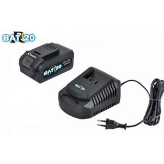 """Kit """"RBAT20"""" chargeur rapide + batterie 4Amp"""