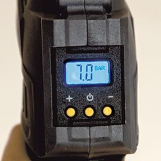 """Compresseur """"R-BAT20"""", 15l/min, 7bars, 20volt, livré avec batterie+chargeur+embouts gonflage"""
