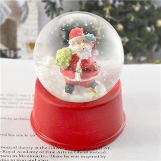 Boule de Neige de Père Noël 143800-Couleur-Rouge