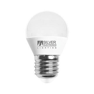 Ampoule LED Sphérique Silver Electronics 960727 E27 7W Lumière chaude-Choisissez votre option-5000K