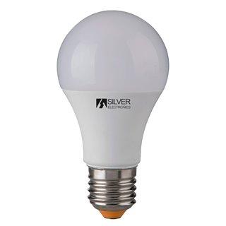 Ampoule LED Sphérique Silver Electronics 980927 E27 10W Lumière chaude-Choisissez votre option-5000K