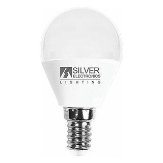 Ampoule LED Sphérique Silver Electronics E14 7W Lumière chaude-Choisissez votre option-5000K