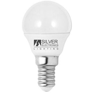 Ampoule LED Sphérique Silver Electronics Eco E14 5W Lumière blanche-Choisissez votre option-6000K