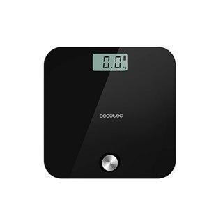 Balance Numérique de Salle de Bain Cecotec EcoPower 10000 Healthy Black LCD 180 kg Noir