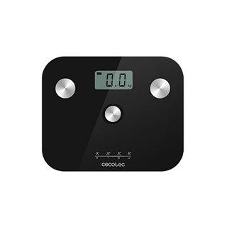 Balance Numérique de Salle de Bain Cecotec EcoPower 10100 Full Healthy LCD 180 kg Noir