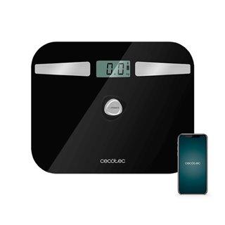 Balance Numérique de Salle de Bain Cecotec EcoPower 10200 Smart Healthy LCD Bluetooth 180 kg Noir