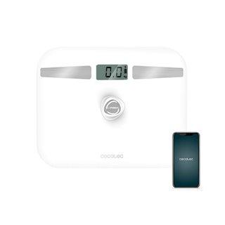 Balance Numérique de Salle de Bain Cecotec EcoPower 10200 Smart LCD Bluetooth 180 kg Blanc