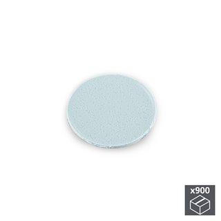 Lot de 900 pastilles adhésives Emuca D. 20 mm en finition gris