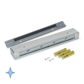 Lumière LED à piles pour intérieur de tiroirs Drawled Emuca avec détecteur de vibration et lumière froide