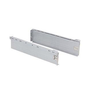 Kit de tiroir Ultrabox Emuca hauteur 118 mm et profondeur 270 mm finition gris métallisé