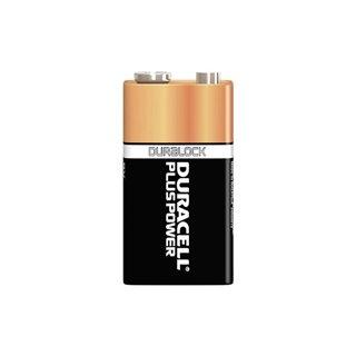 Duracell - Pile Alcaline Plus Power E-Bloc 9 V - Mn1604