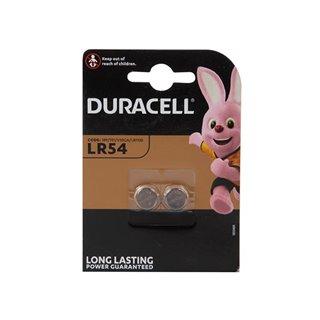 Duracell - Pile Bouton Alcaline 1.5 V Lr54