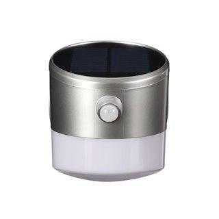 Lampe Led Solaire Avec Capteur Pir - 2 W - Forme Couronne