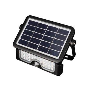 Lampe Led Solaire Avec Capteur Pir - Multifonctions - 5 W