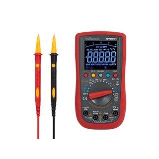 Multimètre Numérique - Cat Ii 700 V / Cat Iv 600 V - 15 A - Auto - True Rms - Ncv - 40000 Points + Cordons De Mesure Tlm72