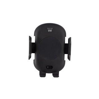 Ewent - Support Voiture Automatique Pour Smartphone Avec Chargeur Rapide Sans Fil