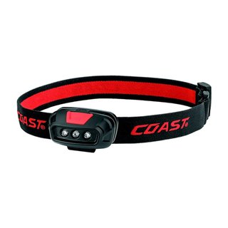 Coast - Fl14 - Lampe Frontale - 37 Lumen - Rouge