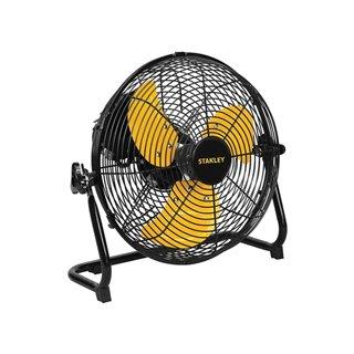 Ventilateur De Sol - Acier - Ø 30.5 Cm - Noir/Jaune