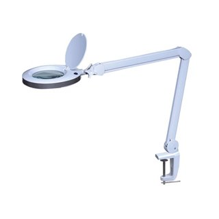 Lampe-Loupe Led 8 Dioptries - 8 W - 60 Leds - Blanc