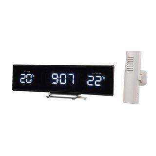 Horloge Avec Température Intérieure/Extérieure