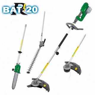 """Outil 4 En 1 """"R-BAT20"""" Sans Batterie Ni Chargeur"""
