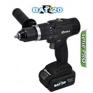 """Perceuse-Visseuse à Batterie PRO """"R-BAT20"""""""