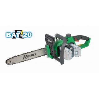 "Tronçonneuse BRUSHLESS ""R-BAT20"" 350MM 2x20V Sans Batterie Ni Chargeur"