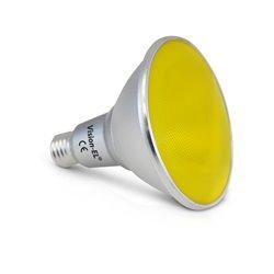 LED PAR38 16 W E27 JAUNE 25° IP 65 BOITE