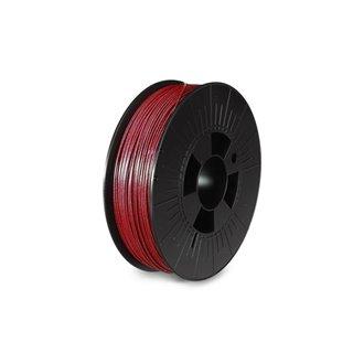 Filament Pla 1.75 Mm - Rouge Métallique - Mat - 750 G