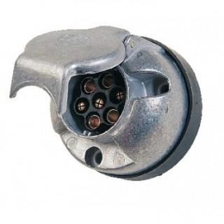 Prise Metal Femelle A Fixer 12V 7 Plots